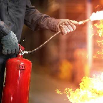 Fire Extinguisher ACCREDITED BY RoSPA